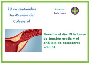 Dia mundial del colesterol